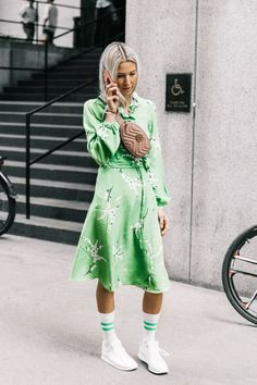 Shop the item fashion girls were spotted wearing with everything during fashion week and beyond. Spoiler alert: It's a Gucci fanny pack.