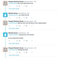 These Two Book Publishers Got Into The Cutest Little Twitter Spat