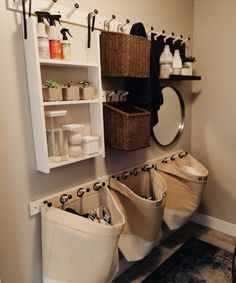 "Figure out additional relevant information on ""laundry room storage diy shelves"". Take a look at our internet site. Laundry Decor, Small Laundry Rooms, Laundry Closet, Laundry Room Organization, Laundry Room Design, Bathroom Storage, Organization Ideas, Bathroom Shelves, Storage Ideas"