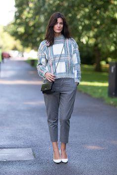 Chanel WOC Bag... Street Style: London Fashion Week Street Spring 2014