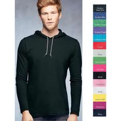 Mens Doe Hard Hooded Sweatshirt Funny Printed Pullover Hoodies Classic Long Sleeve T Shirt Tops
