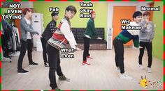"""VIXX dancing to SNSD's """"I Got A Boy"""" I totally recommend this to whoever hasn't watched it... It's hilarious!"""