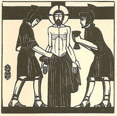 Eric Gill, Jesus is stripped of his garments