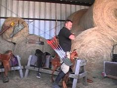 A Company Mounted Archery - Different seat positions for mounted archery video by Trey Schlichting