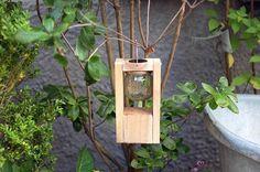 #Solarlaterne aus #Palettenholz für den #Garten