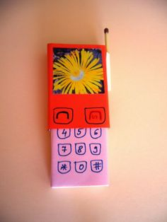 13 DIY idead from  matches box Mobile phone: kids love it!
