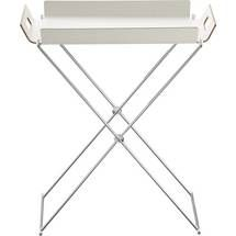 formosa white tray table by CB2