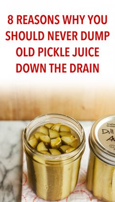 Pickle juice is probably not something you'll think of when trying to find a natural way to improve your health. However, the liquid that's left in the jar after eating the pickles is an amazing source of antioxidants, electrolytes, and other important nutrients, so you definitely don't want to throw it away. What's more, you…
