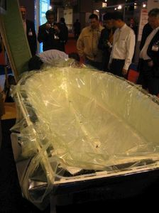 A fiberglass mold is rather simple to make, but it takes a few days. The idea of a mold is to make a replica of the item that you need. You will be able to reuse the mold many times after. How To Fiberglass, Fiberglass Resin, Car Paint Repair, Ferrari 458, Boat Building Plans, Boat Plans, Boat Restoration, Solar Car, Make A Boat