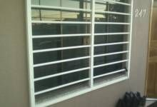 Grades de janelas em PVC