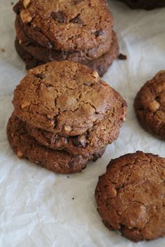 Chocolate chip cookies - a more healthy version