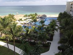 Iberostar Rose Hall Suites view from the Ocean View King Suite.