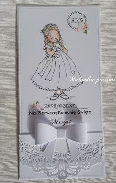 First Communion Cards, Cute Cards, Place Cards, Place Card Holders, Birthday, Handmade, Scrapbooking, Passion, Infant Pictures