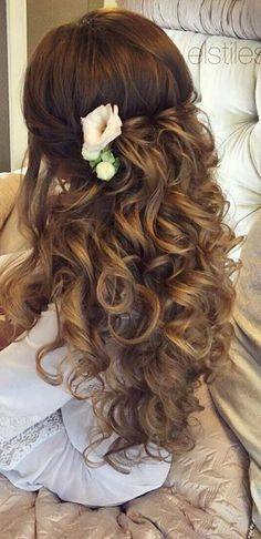 Our Favorite Wedding Hairstyles For Long Hair ❤ See more: #weddings