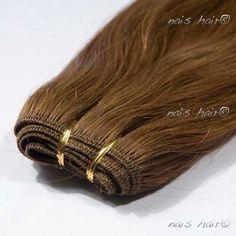 Hair Weft #6 (Medium Brown)   #hair $92.95