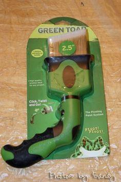 Green Toad Pivoting paintbrush