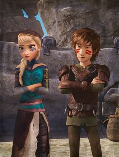 """Kayla: I went to Burk to see Hiccup and he had become a dragon trainer so I was helping him and someone said I was too """"girly"""" to train dragons."""
