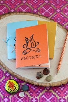 DIY: mini summer notebook