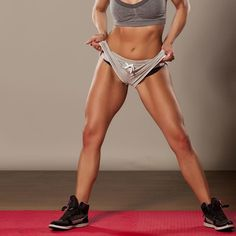 Exercises That Sculpt Strong Legs (and Glutes Too!) Revamp your usual lower-body workout routine with these 5 exercises made to sculpt strong legs and glutes. Do these exercises at home or anywhere to target and tone every muscles below your waist. Fitness Workouts, 7 Workout, Fitness Motivation, Sport Fitness, Fitness Diet, Health Fitness, Body Workouts, Leg Workout Routines, Workout Videos