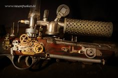 steampunk guns | steampunk gun - raygun - The Steampunk Empire