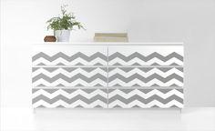 PANYL for IKEA MALM Dresser | PANYL self-adhesive furniture finishes