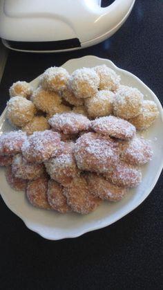 Boules de coco à l'abricot