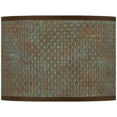 Embroidered hourglass lamp shade 16x16x11 spider style k4307 interweave patina giclee lamp shade 135x135x10 spider style 37869 v2360 aloadofball Gallery