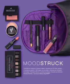 MOODSTRUCK COLLECTION;  - 1 Moodstruck Addiction Shadow Pelette - 1 3D Fiber Lash➕ Mascara - 1 Opulence Lipstick - 1 Stiff Upper Lip Lip Stain - 1 Moodstruck Minerals Concealer - 1 Precision Pencil - 1 Lucrative Lip Gloss - 1 Moodstruck Minerals Pressed Blusher - 1 Younique Make-up Bag  £137 SAVING £25 PLUS free make-up bag  Available from 1st September at www.youniquebysarahtinker.com
