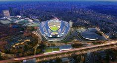 Zaha Hadid's New National Stadium of Japan venue for Tokyo 2020 Olympics