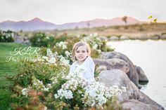 Family Spring time desert sunset KLR Photo Memories
