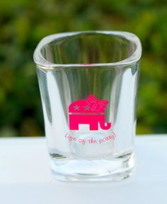 Future First Lady  - Life Of The Party Shot Glass, $5.99 (http://www.futurefirstlady.net/life-of-the-party-shot-glass/)