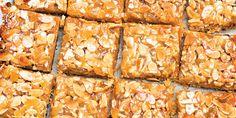 Ginger and Almond Bars recipe | Epicurious.com