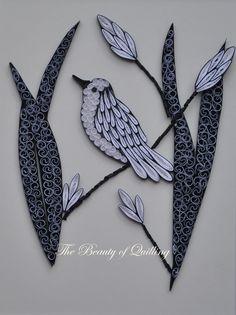 Quilled bird