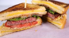 Clinton Kelly's Grilled Cheese Hamburger