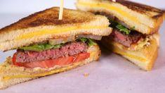 Clinton Kelly's Grilled Cheese Hamburger