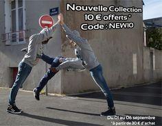 Profitez de 10 € offerts avec le code NEW10 ! Valable jusqu'au dimanche 6 septembre.