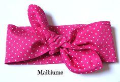 Hairband/Headband  Pin up Style 50's from Maiblume by DaWanda.com