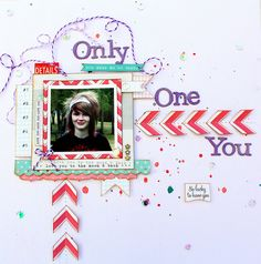 Only One You Layout Cassie by somethingfromcassie, via Flickr