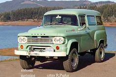 Dodge Power Wagon- forest service green