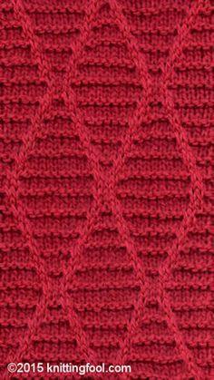 Crisscross 2 - Knittingfool Stitch Detail