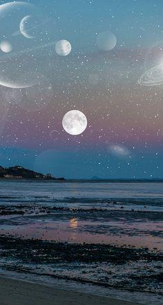 #space #stars #universe #sea