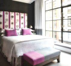 Crosby Street Hotel, Soho, New York l Firmdale Hotels Home Bedroom, Girls Bedroom, Bedroom Decor, Bedroom Designs, City Bedroom, Dream Bedroom, Bedroom Wall, Master Bedroom, English Style