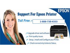 Dial 1-888-738-4333 epson printer technical support number to solve the epson printer issues .