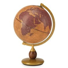 The Gea Scorpius is an authentic Italian desk top small world globe by Zoffoli that combines old world charm & contemporary cartography. Globe Bar, Desk Globe, Floor Globe, Origin Of The World, World Globes, Old World Charm, Small World, Messing, Warm Colors