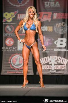 blonde bikini competitor - Google Search