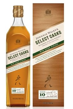 Product Launch - Diageos Johnnie Walker Select Casks: Rye Cask Finish