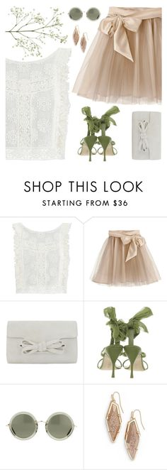 """""""See You In the Garden"""" by cb-hula ❤ liked on Polyvore featuring MINKPINK, Little Wardrobe London, Alberta Ferretti and Kendra Scott"""