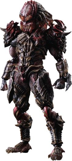 "Predator Collectible Figure Product Details Expected to Ship Oct 2015 - Nov 2015 License Predator Scale Collectible Figure  Manufacturer Square Enix Product Size 11"" H (279.4mm) x 5.1"" W (129.54mm) x 3.5"" L (88.9mm)*     Tabletop View » Dimensional Weight TBD Int'l Dim. Weight TBD Product Sku  902437 UPC 6 62248 81547 3  $149.99 ®... #{T.R.L.}"