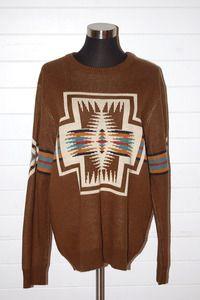 VINTAGE Native American Design Jumper