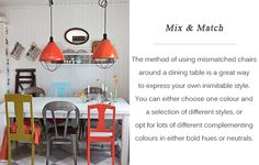 Mix & match - different colours & style